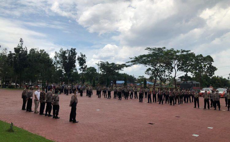 455 Personel Polda Sumut Disiagakan Antisipasi Aksi Unjuk Rasa Lanjutan