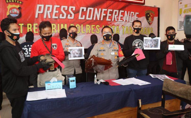 Aksi unjuk Rasa Yang Berujung Anarkistis, Polresta Tangerang Tetapkan 9 Tersangka