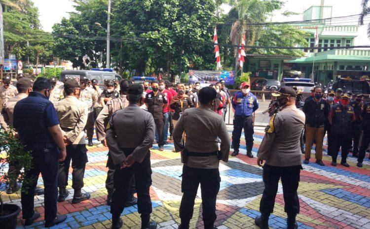 Amankan Unjuk Rasa, Polsek kebon Jeruk Siagakan 107 personel Gabungan