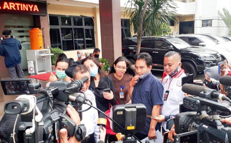 GAAS Dampingi Saksi Kasus Meidina Di Polres Jakarta Selatan
