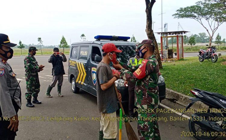 Polsek Pagedengan Menegakan Operasi Yustisi