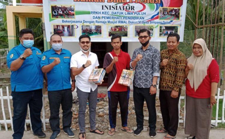 Anggota DPRD Andi Lestari Bantu Buku Untuk Rumah Bina Prestasi Di Batu Bara