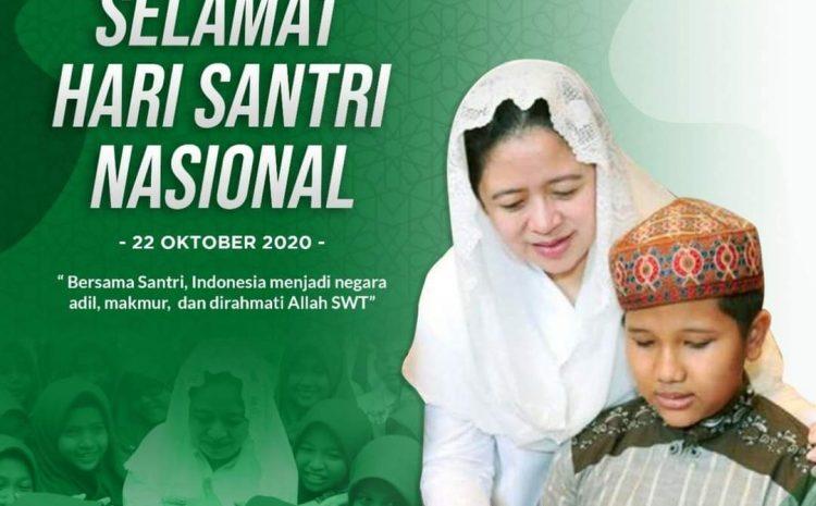 Ketua DPR Puan Maharani: Hari Santri Nasional Wujud Penghormatan Jasa Meraih Kemerdekaan