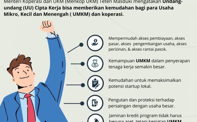 Enam Manfaat Omnibus Law Bagi UMKM