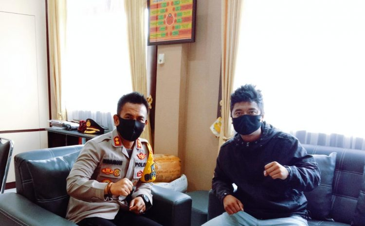 Polres Wakatobi Bersama Pemuda Serukan Tetap Jaga Keamanan Daerah Menghadapi Pilkada Wakatobi
