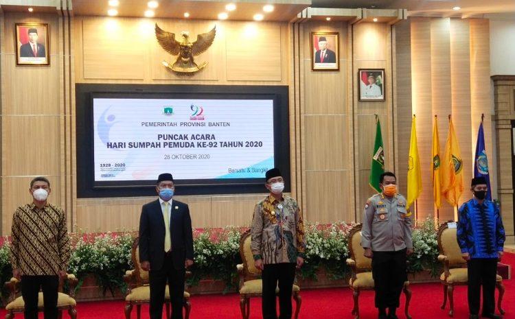 Di Hari Sumpah Pemuda, Dirbinmas Polda Banten Ajak Pemuda Cegah Penyebaran Covid-19