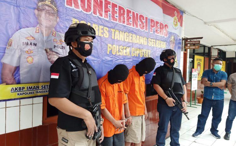 Polsek Ciputat Timur Ringkus 2 Pelaku Tindak Pidana Pencurian Dan Kekerasan