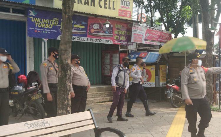Gelar Operasi Yustisi Cegah Covid 19 Dua Pelanggar Terjaring Polsek Cisauk