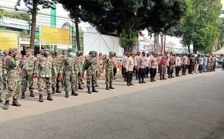 Apel Bersama 3 Pilar Dalam Rangka Persiapan Pengamanan Pilkada Kota Tangerang Selatan