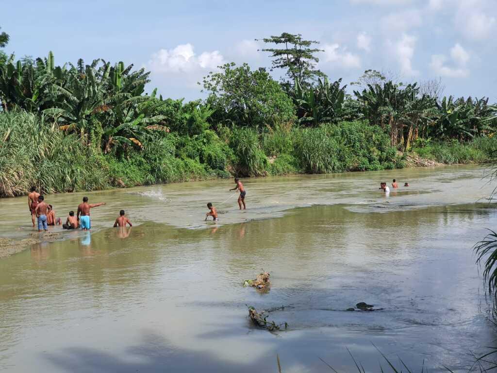 Niat Menolong Orang Jatuh, Toni Warga Desa Celawan Malah Tenggelam Di Sungai Ular