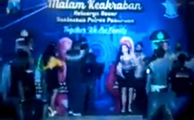 Viral Video Polisi Dangdutan Abaikan Protokol Kesehatan
