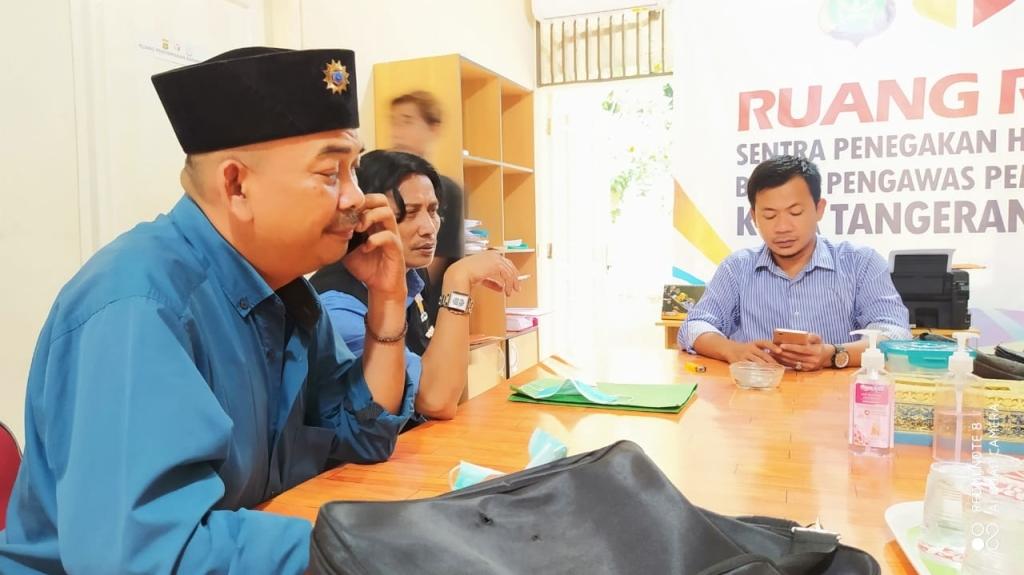 Ahmad Jazuli Anggota Bawaslu Tangsel Meminta Maaf Kepada LSM Perkota Nusantara