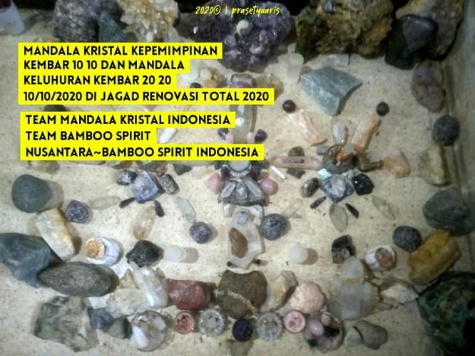 Sinkronisasi Sinergitas Mandala WATU BATU dari Peradaban Waktu Cahaya 10102020 Dijagad Renovasi Total 2020