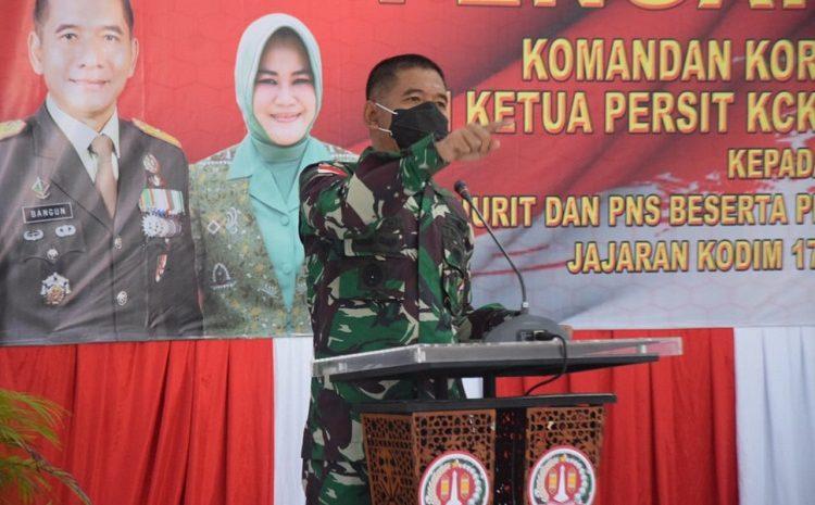 Danrem 174 Merauke, Jaga Netralitas TNI Dalam Pilkada