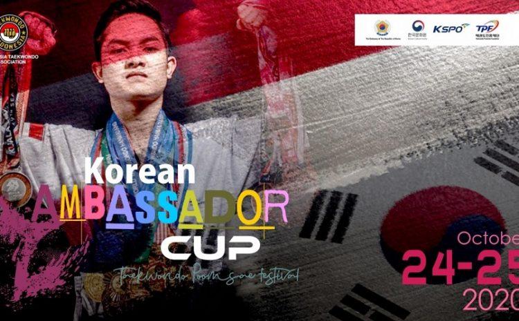 Korean Ambassador Cup – Taekwondo Poomsae Festival 2020 Siap Digelar