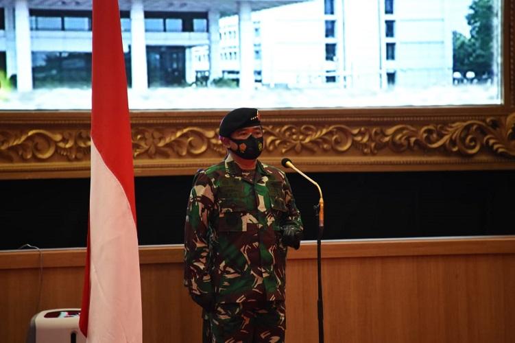 Panglima TNI Terima Laporan Korps Kenaikan PangkatPuluhan Pati TNI