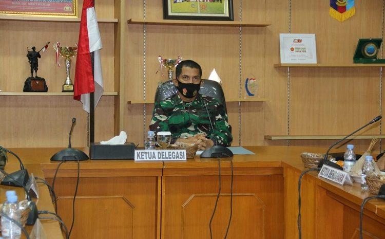 Kapusjaspermildas TNI Ikuti Sidang Umum ke-75 CISM di Belgia Melalui Vicon