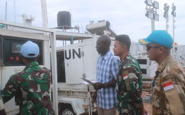 Satgas TNI Terima KunjunganCOE BukavuDi Republik Demokratik Kongo