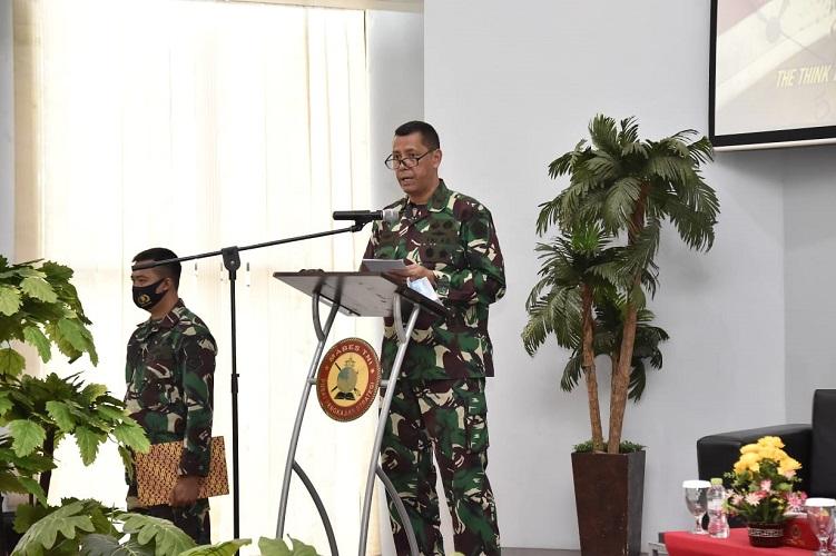 Kapusjianstra TNI Buka FGD Pemperdayaan Prajurit TNI Yang Disabel