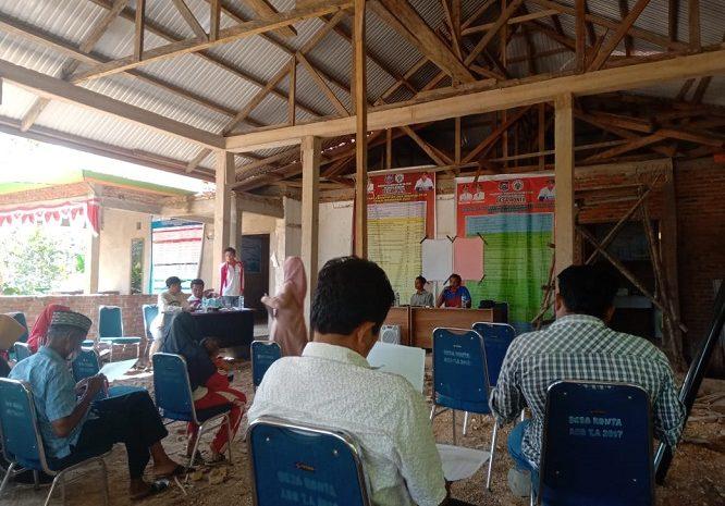 Musyawarah Agenda Kerja Masyarakat Desa Ronta