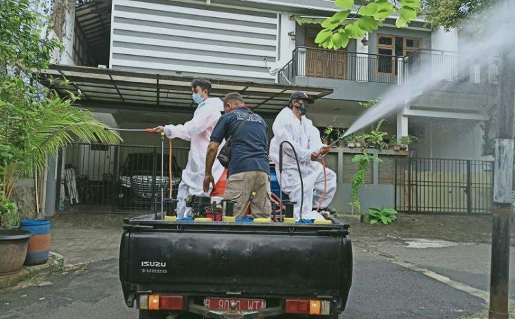 BPBD Lakukan Penyemprotan Desinfektan Hingga 31 Desember Di 7 Kecamatan