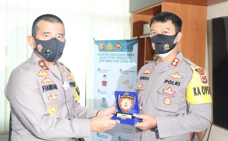 Lomba Fungsi Sabhara Polres Jajaran Polda Banten, Polres Serang Kota Raih Juara III