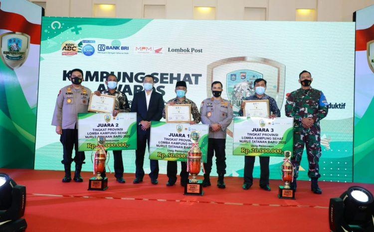 Kabaharkam Polri Wakili Kapolri Hadiri Kampung Sehat Awards Polda NTB