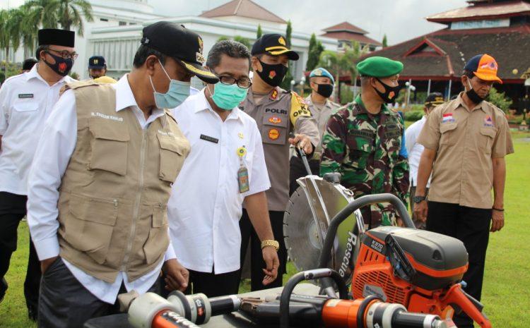 Antisipasi Dampak La Lina, Lombok Barat Gelar Apel Konsolidasi Kesiapsiagaan Menghadapi Bencana