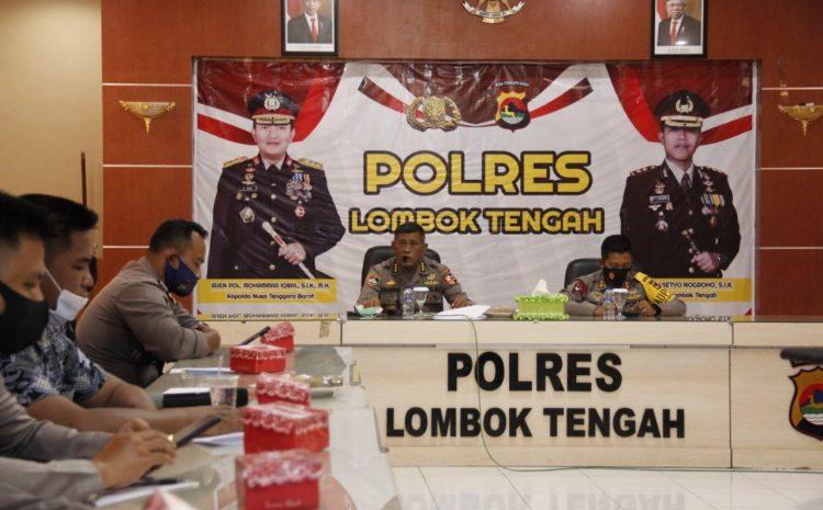 Tim Puslitbang Polri Gelar Penelitian Di Polres Lombok Tengah