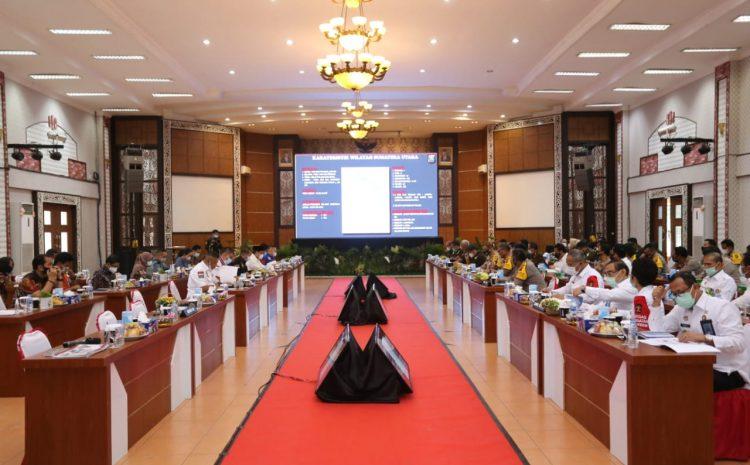 Kapolda Sumut Paparkan Situasi Kamtibmas Di Sumut Dalam Kunjungan Kerja Spesifik Komisi III DPR RI