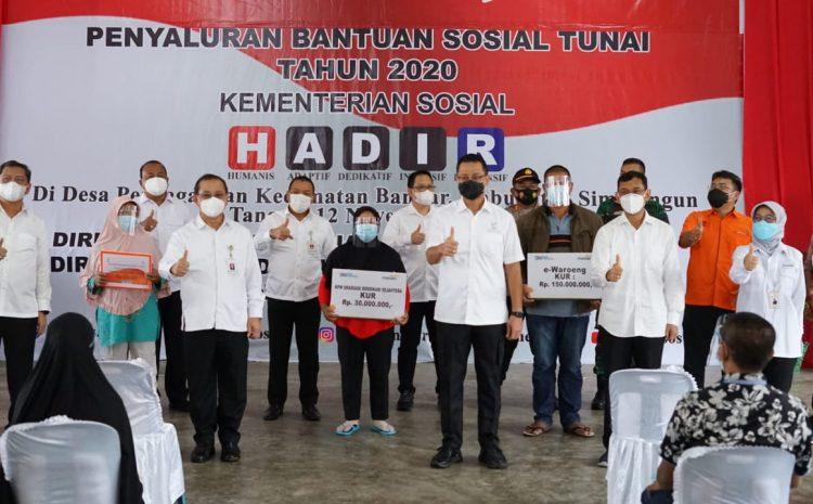Kapolres Simalungun Siagakan 90 Personil Guna Pengamanan Kunjungan Kementrian Sosial