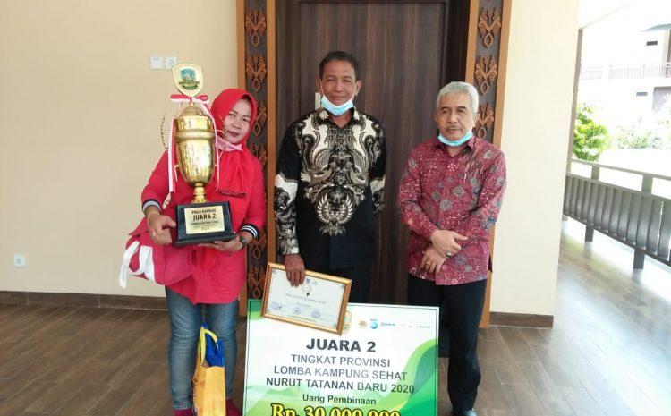 Mendapatkan Anugerah Awards Ke-2 Kampung Sehat,Ini Keunggulan Desa Perenek Sumbawa
