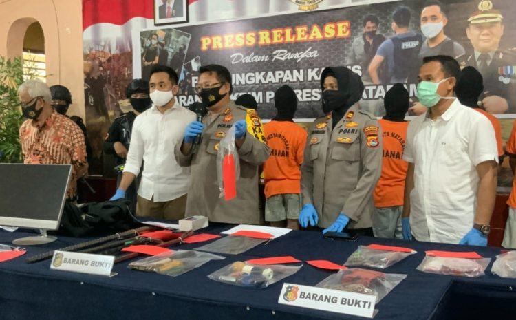 Bravo, Polresta Mataram Gasak Komplotan Bandit Pencurian 67 TKP