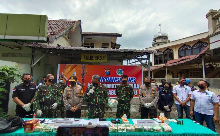 Kapolda Sumut Pimpin Konfrensi Pers Pengungkapan 15 kg Sabu Oleh Polres Labuhanbatu
