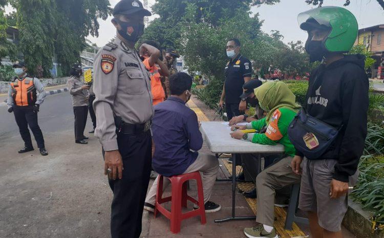 22 Pelanggar Prokes Di Tambora Diberi Sanksi Sosial Bersihkan Fasilitas Umum
