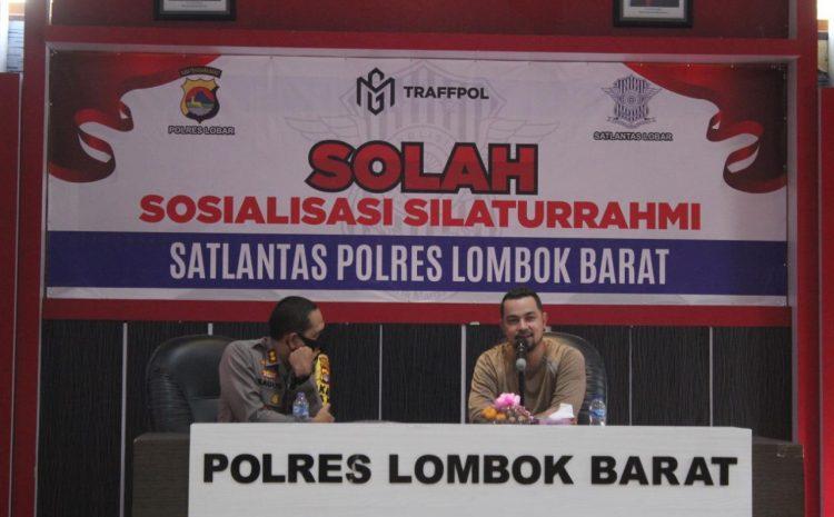 "Polres Lombok Barat Melaunching Program ""SOLAH"" Bersama Aktor Sultan Djorghi"