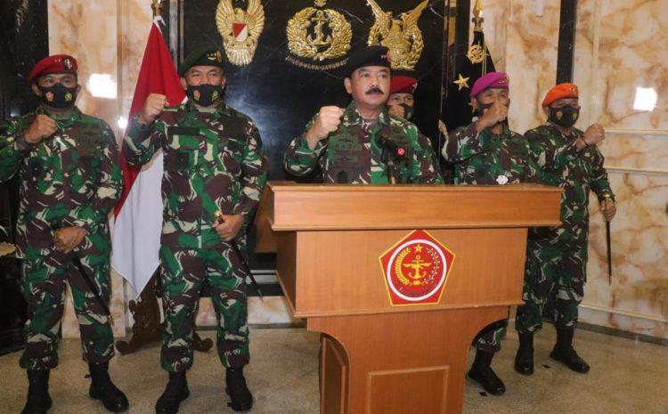 Panglima TNI : Jangan Biarkan Persatuan Dan Kesatuan Hilang