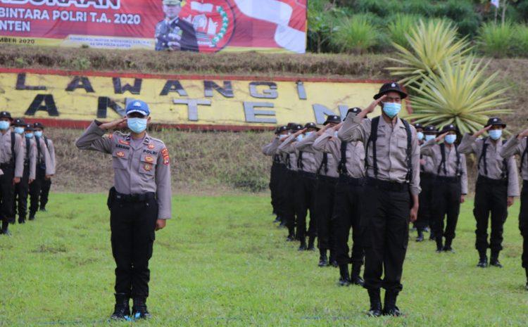Sebanyak 192 Siswa Mengikuti Pendidikan Bintara Polri Di SPN Mandalawangi