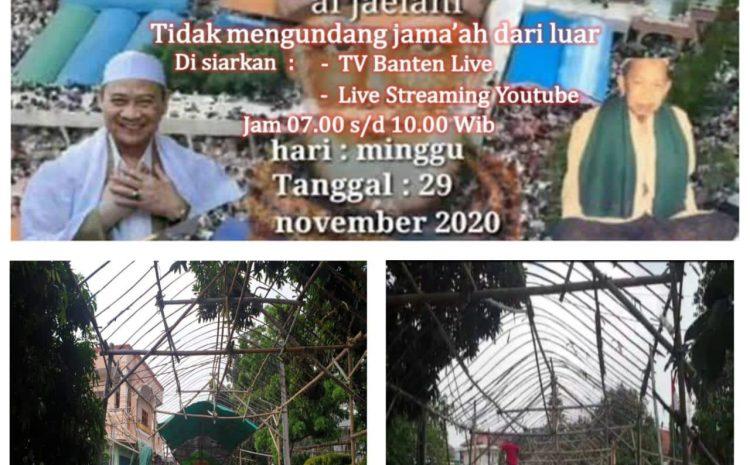 Kapolresta Tangerang Apresiasi Keteladanan Ponpes Al-Istiqlaliyyah Dan Panitia Haul Syeh Abdul Qadir Jailani