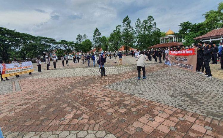 Deklarasi Damai Menolak Kedatangan Rizieq Shihab Ke Banten, Polisi Amankan Dua Orang Provokator