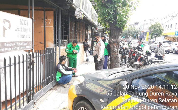Edukasi Warga Pentingnya Penerapan Prokes, Polsek Tanjung Duren Gelar Patroli Aman Nusa II