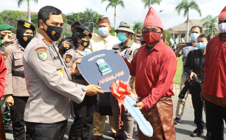 Kabaharkam Wakili Kapolri Hadiri Penyerahan Hadiah Lomba Kampung Tegep Mandiri Babel
