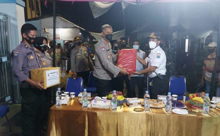Dirbinmas Polda Metrojaya Pantau Poskamling RW 01 Kelurahan Rawasari Cempaka Putih