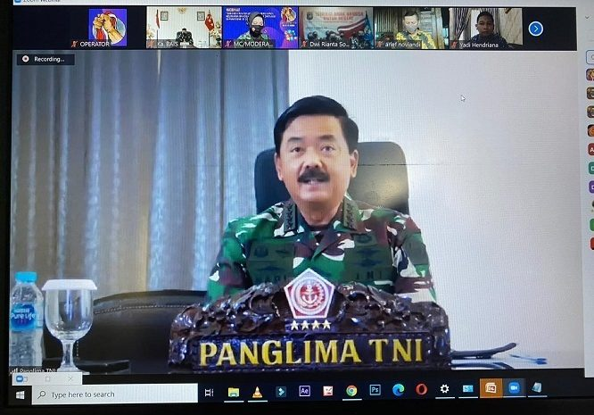 Panglima TNI : Ancaman Separatisme di Dunia Maya Merupakan Ancaman Serius Terhadap Persatuan dan Kesatuan Bangsa