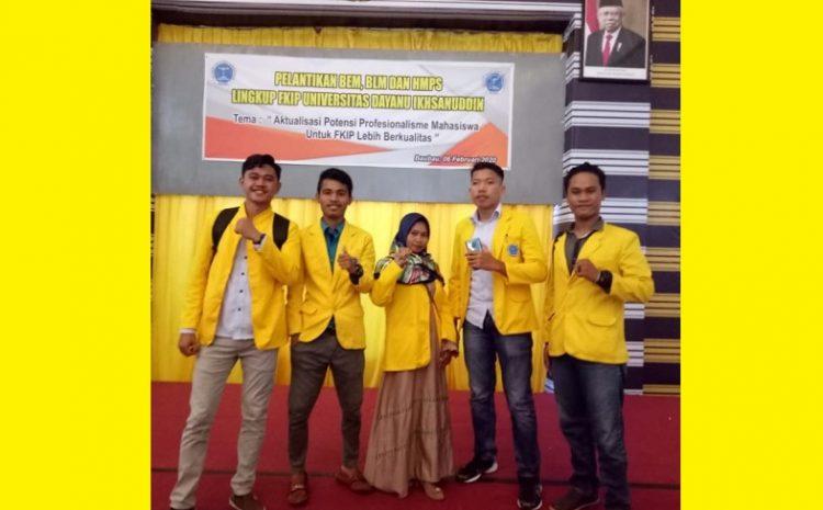 Badan Legislatif Mahasiswa (BLM) FKIP Unidayan Mengapresiasi Kinerja MPM Unidayan