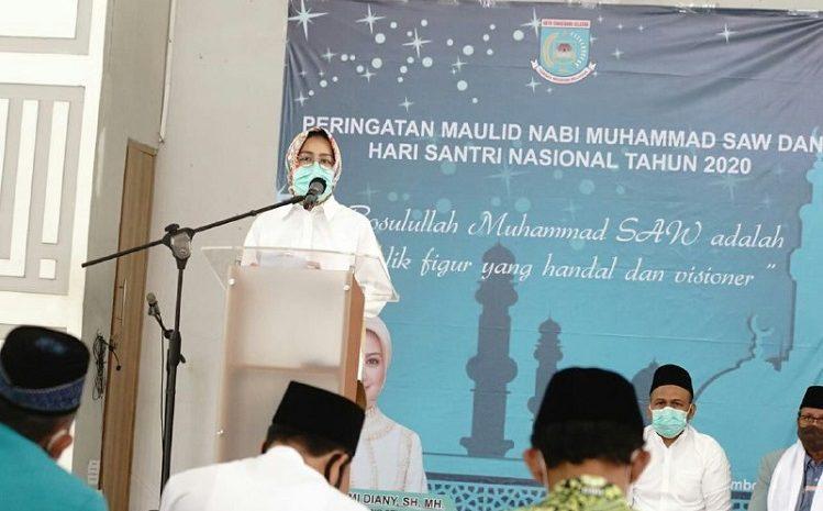 Walikota Tangsel Hadiri Perayaan Maulid Nabi Muhammad SAW