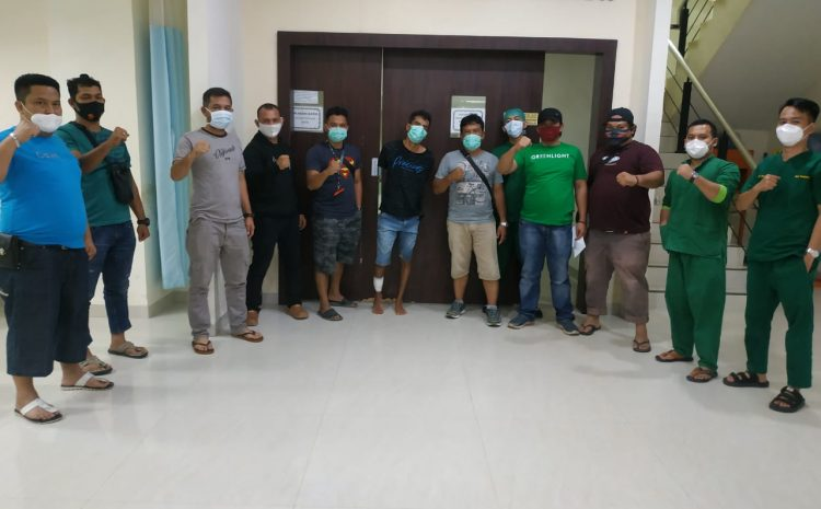 Perampok Sadis DiSimpang Mangga Kecamatan Rantau Selatan Diberi Timah Panas