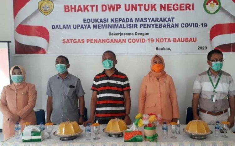 DWP Baubau Jadi Garda Terdepan Kawal Pembangunan