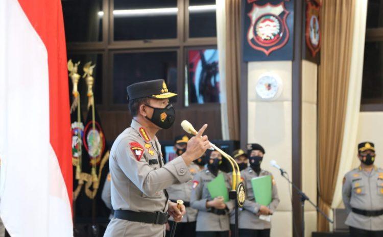 Kapolri Pimpin Korps Raport 46 Pati Polri
