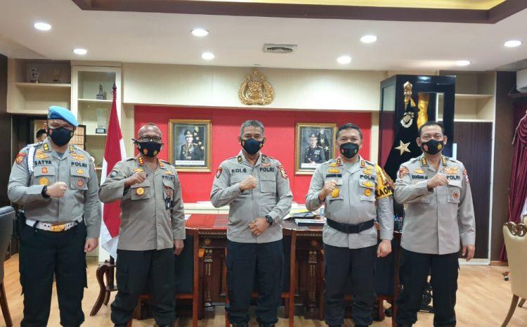 Tim Mabes Polri Dipimpin Oleh BJP Pol Drs Edi Setio Budi Supervisi Ke Wilayah Riau
